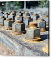 Nuts And Screws Acrylic Print