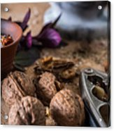 Nuts And Spices Series - Six Of Six Acrylic Print