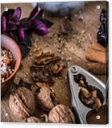 Nuts And Spices Series - Three Of Six Acrylic Print