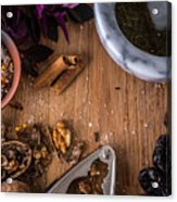 Nuts And Spices Series - Two Of Six Acrylic Print
