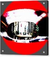 Ny 57th Street Fisheye Acrylic Print