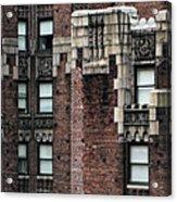 Ny Brick 4 Acrylic Print