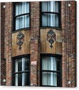 Ny Brick Details Acrylic Print
