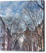 Ny City Street Acrylic Print
