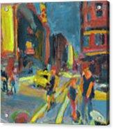 Ny Intersection Acrylic Print