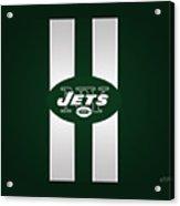 Ny Jets Football Acrylic Print
