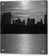 Ny Panorama Vertical Acrylic Print