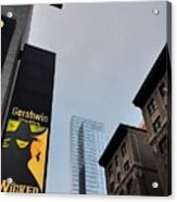 Nyc-and The Other Was Acrylic Print