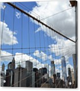 Nyc Catch Me If You Can Acrylic Print