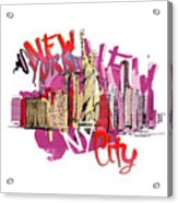 NYC Acrylic Print