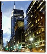 Nyc Fifth Ave Acrylic Print