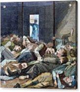 Nyc: Homeless, 1874 Acrylic Print