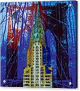 Nyc Icons Acrylic Print by Gary Grayson