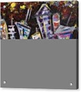 Nyc Impressions 2 Acrylic Print