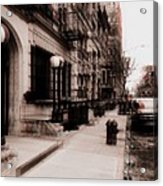 Nyc Neighborhood Series Acrylic Print