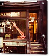Nyc Parfumerie Acrylic Print