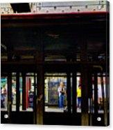 Nyc Subway Platform 283 Acrylic Print
