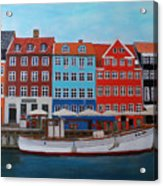 Nyhavn Copenhagen Acrylic Print