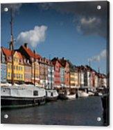 Nyhavn In Copenhagen Acrylic Print