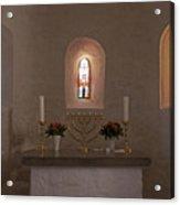 Nyker Round Church Altar Acrylic Print