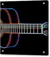 Nylon Acoustic Acrylic Print