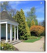 Nymans English Country Garden Acrylic Print