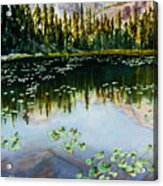 Nymph Lake Acrylic Print