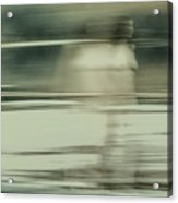 Nymph Walking On Water Acrylic Print