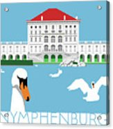 Nymphenburg Palace Acrylic Print