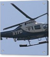 Nypd Aviation Unit Acrylic Print