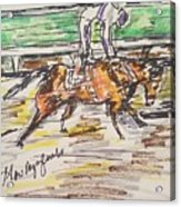 Nyquist Kentucky Derby 2016 Acrylic Print