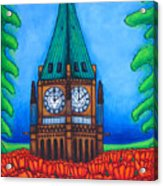O Canada Acrylic Print