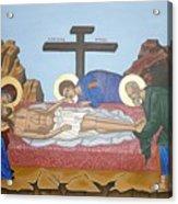 O Epitafos Jesus Acrylic Print