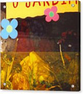 O Jardim Acrylic Print
