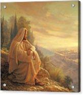 O Jerusalem Acrylic Print