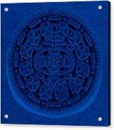 O R E O In Blue Acrylic Print