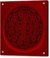 O R E O In Red Acrylic Print