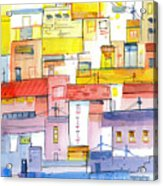 O Town Acrylic Print