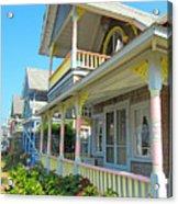 Oak Bluffs Gingerbread Cottages 5 Acrylic Print