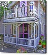 Oak Bluffs Gingerbread Cottages 7 Acrylic Print