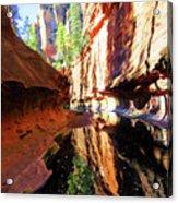 Oak Creek Canyon 1 Acrylic Print
