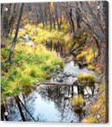 Oak Creek Twilight Acrylic Print