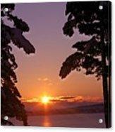 Oak Harbor Sunrise II Sr 2002 Acrylic Print