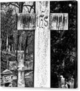 Oak Hill Cemetery Crosses #2 Acrylic Print