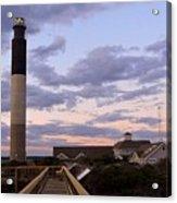 Oak Island Lighthouse Acrylic Print