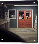 Oak Island Nc Pier Acrylic Print