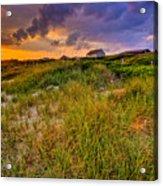 Oak Island Sunset Acrylic Print