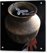 Oak Leaves And Urn Acrylic Print