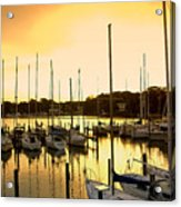 Oak Point Harbor Acrylic Print