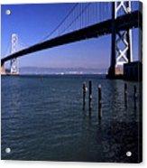 Oakland Bay Bridge 1985 Acrylic Print